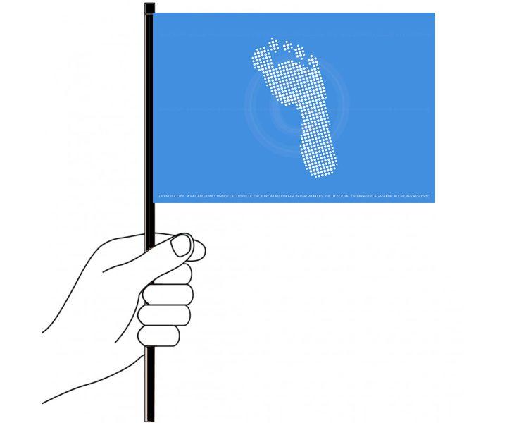 Handwaver flag ftf